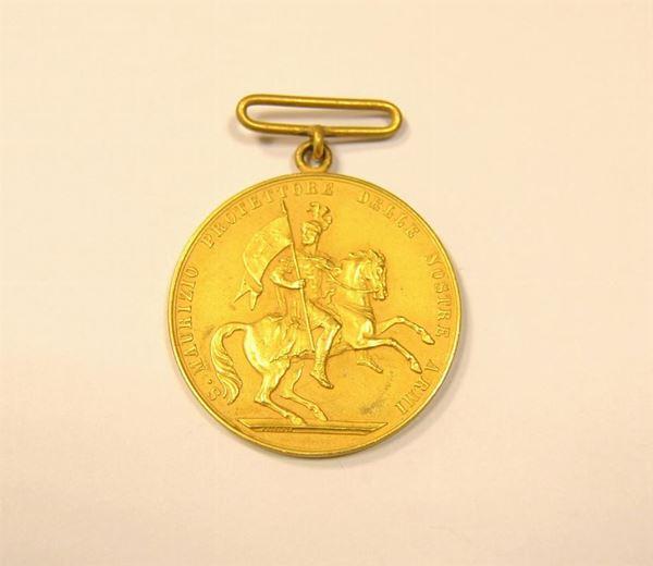 Repubblica Italiana , medaglia in oro 917/1000