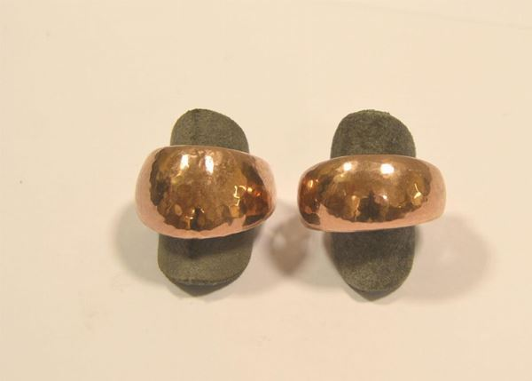 Due anelli in oro 9 Kt