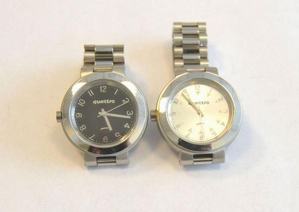 Venti orologi da polso modello Quattro,