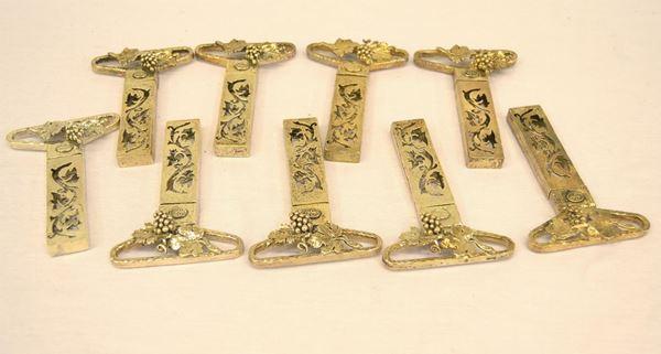 Nove tirabouchon in argento 925