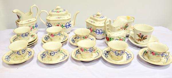 Servito da tè , sec. XIX