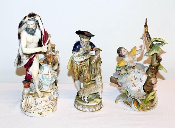 Tre sculture , sec. XIX/XX