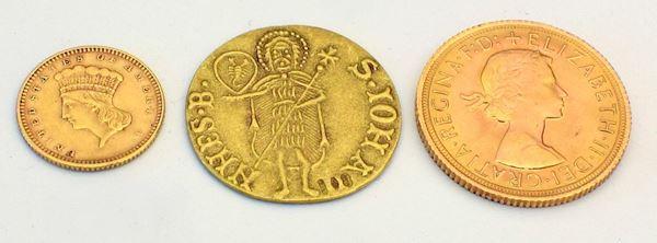Moneta in oro 24 KT