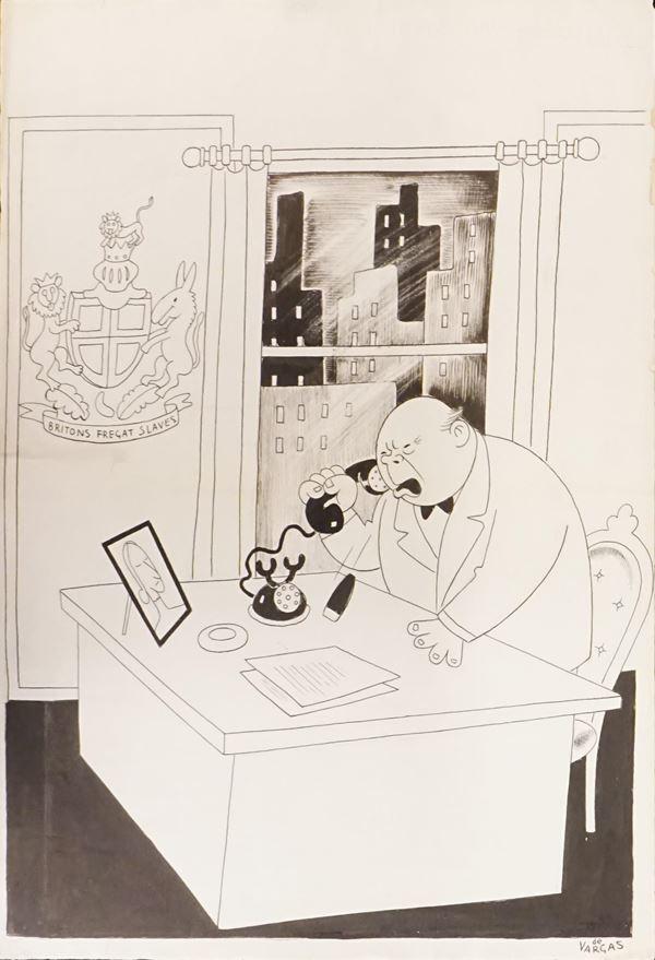 Lotto di cinquantaquattro illustrazioni eseguite da Mario Bazzi