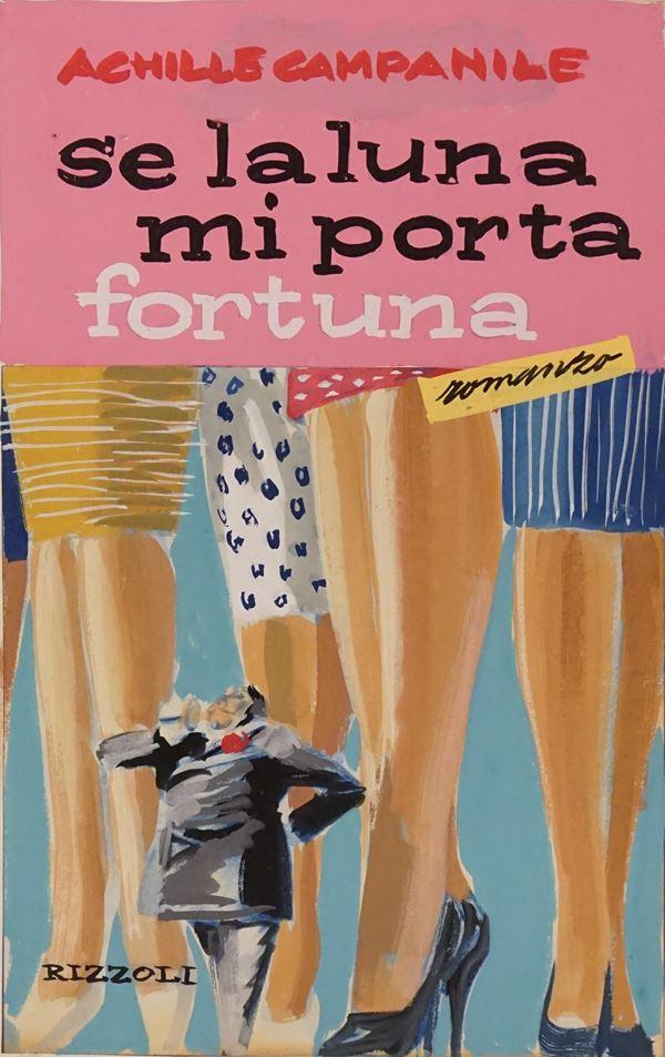 Lotto di tre bozzetti di copertina eseguiti da Karel Thole (1914-2000) per