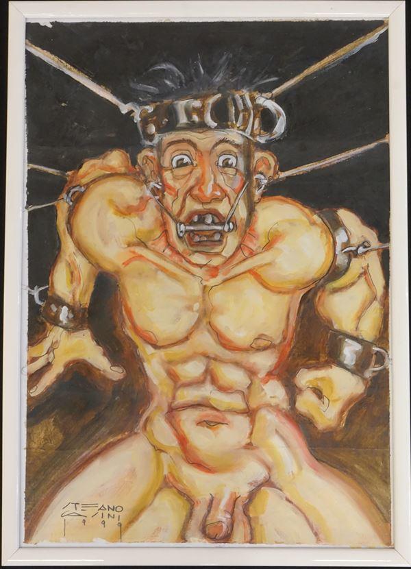 Stefano Casini, illustrazione per la mostra della scuola internazionale di