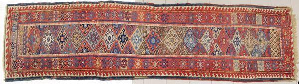 Tappeto galleria, Caucaso, inizi sec. XX,