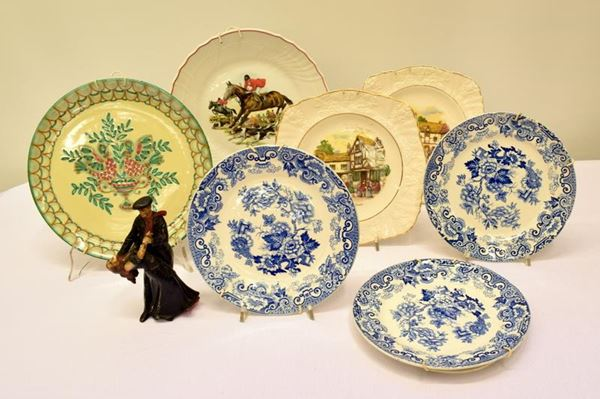 Sette piatti da parete sec.XX