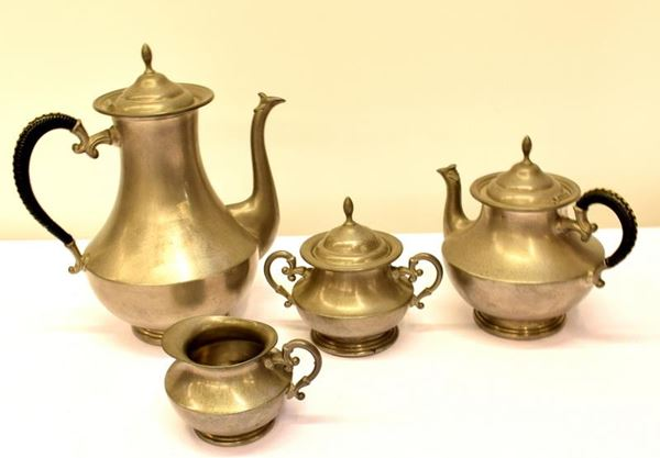 Servito da tè e caffè Olanda sec. XX