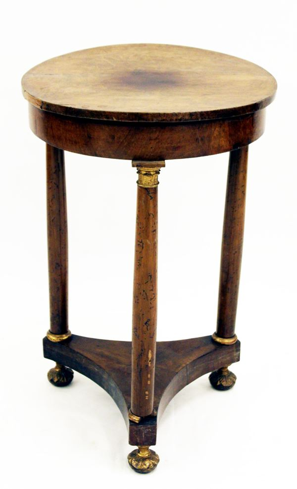 Tavolino, Impero