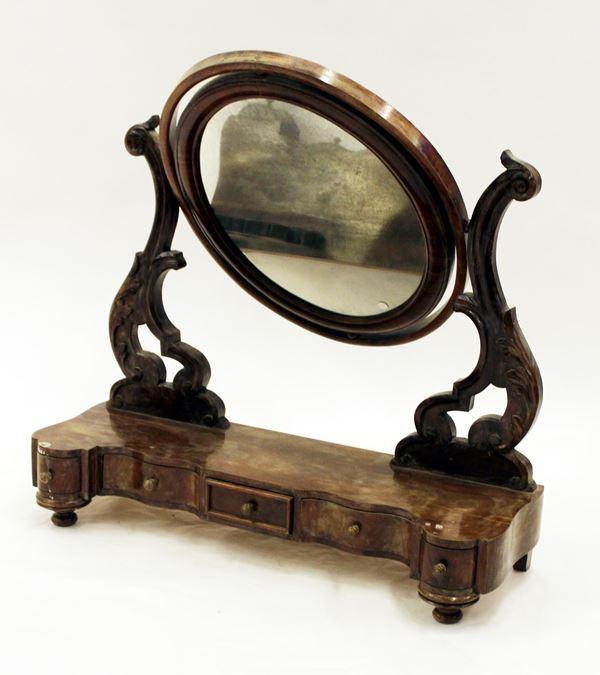 Specchiera basculante, sec. XIX
