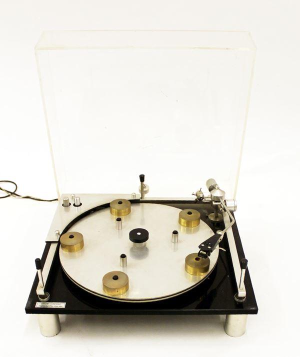 Piatto giradischi Transcriptor Saturn Turntable, anni 70