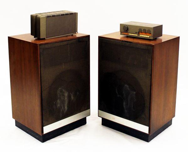 Rara coppia di diffusori acustici 3a, di produzione francese, di metà anni