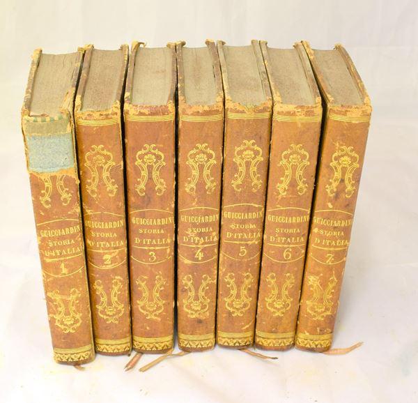 Sette volumi sec. XIX