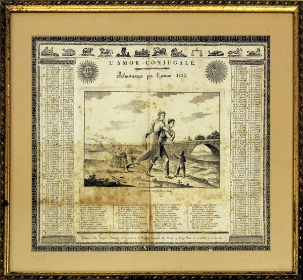 Stampa Francia sec. XIX