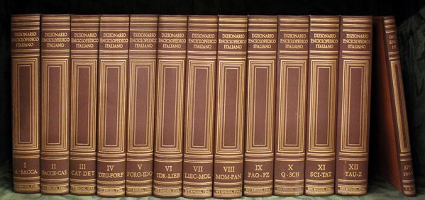 Dizionario Enciclopedico italiano, 1955-1963