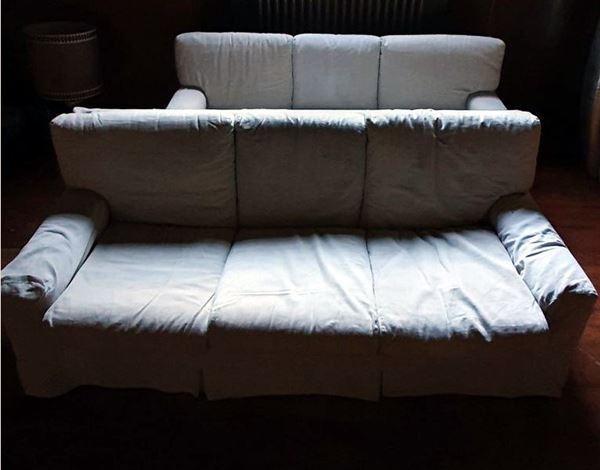 Coppia di divani, sec. XX