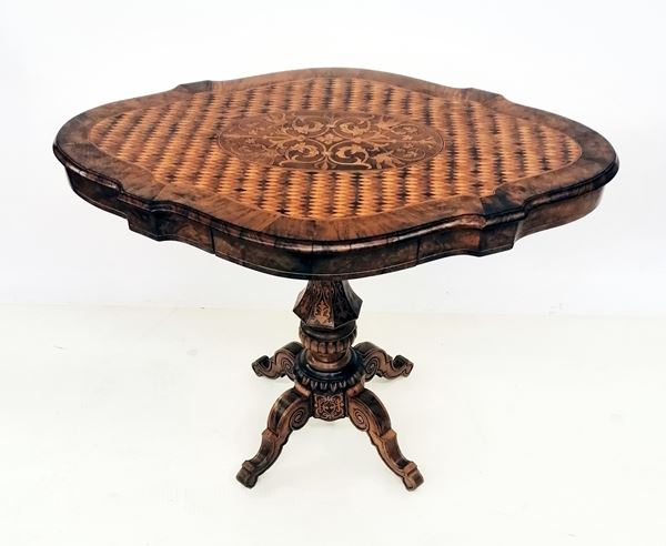 Tavolino a biscotto, sec. XIX