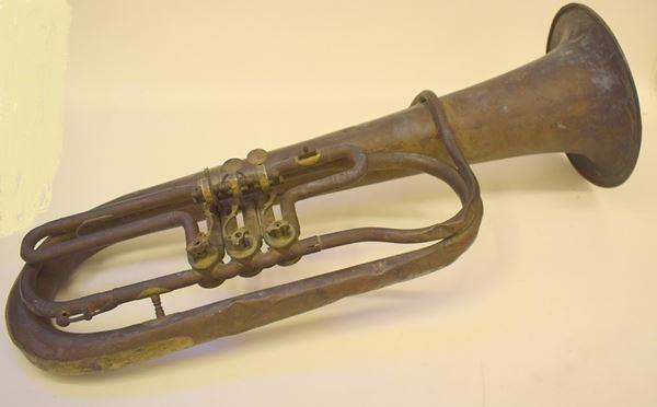Strumento musicale Tuba inizi sec. XX