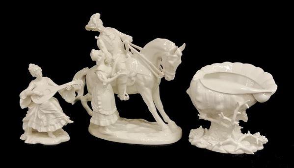 Tre sculture, sec. XX