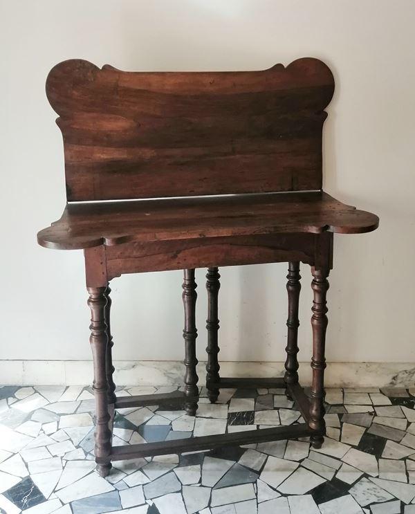 Tavolino da gioco ad uso di consolle, Toscana, sec. XVIII