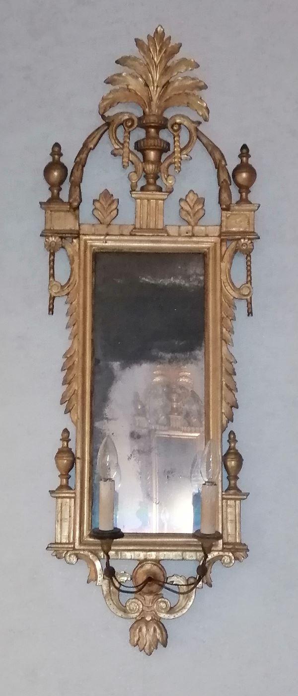 Coppia di specchiere, sec. XVIII