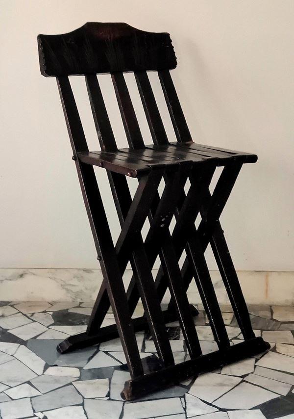 Sedia a stecche, Toscana, sec. XVII
