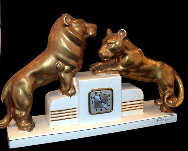 Orologio soprammobile , Art Decò