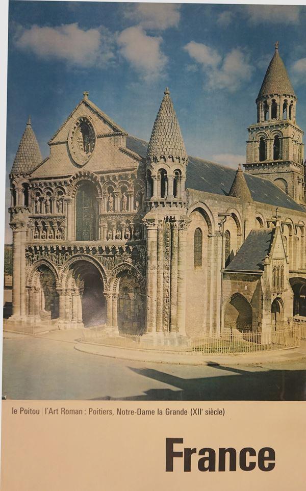 France, Poitiers, Notre-Dame la Grande