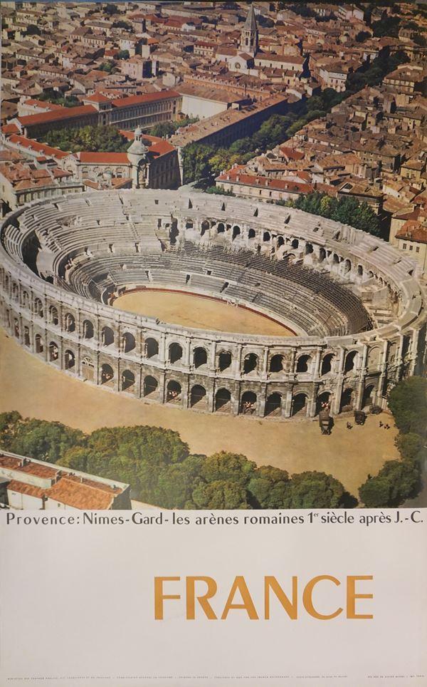 France, Provence, Nimes-Gard