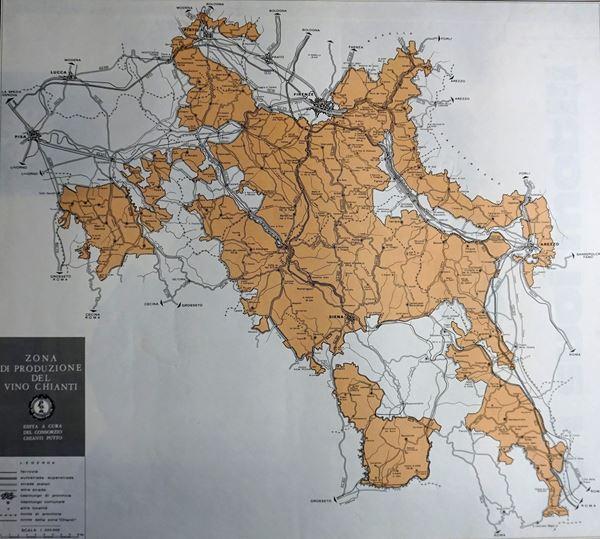 Zona di produzione del vino Chianti