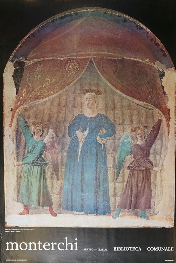Monterchi, Arezzo, Italia, Biblioteca comunale