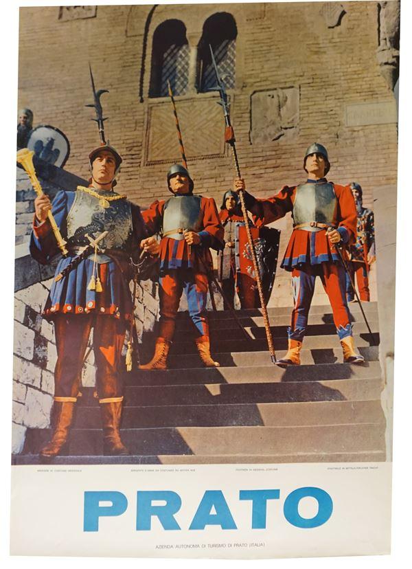 Prato, Museo del Tessuto -Armigeri in costume medievale –Castello dell'imperatore