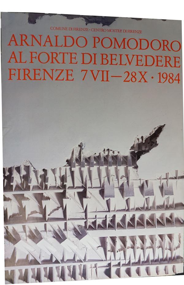 Arnaldo Pomodoro al Forte di Belvedere