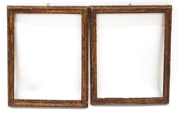 Due cornici, sec. XIX